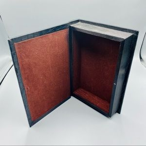 Decorative Diversion Hollow Book Safe